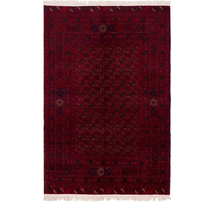 122cm x 190cm Afghan Mouri Oriental Rug