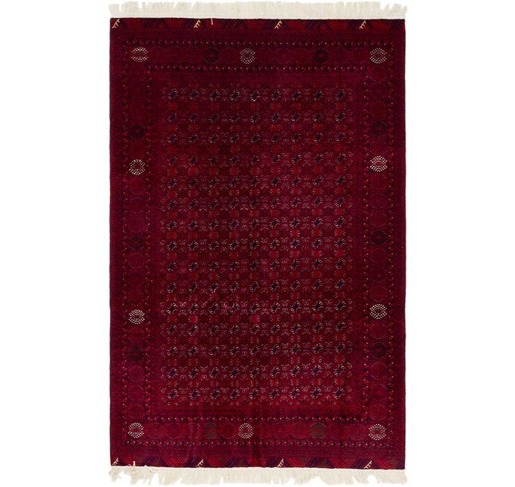 127cm x 195cm Afghan Mouri Oriental Rug