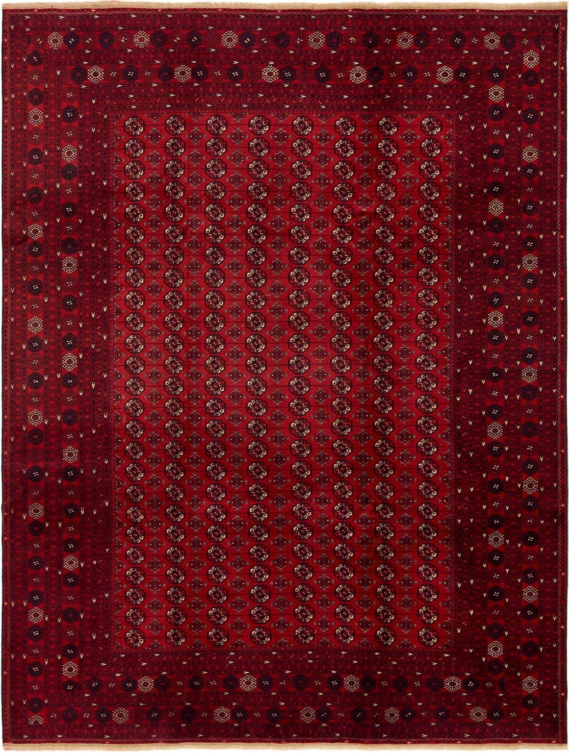 8' 6 x 11' 4 Afghan Mouri Oriental Rug main image