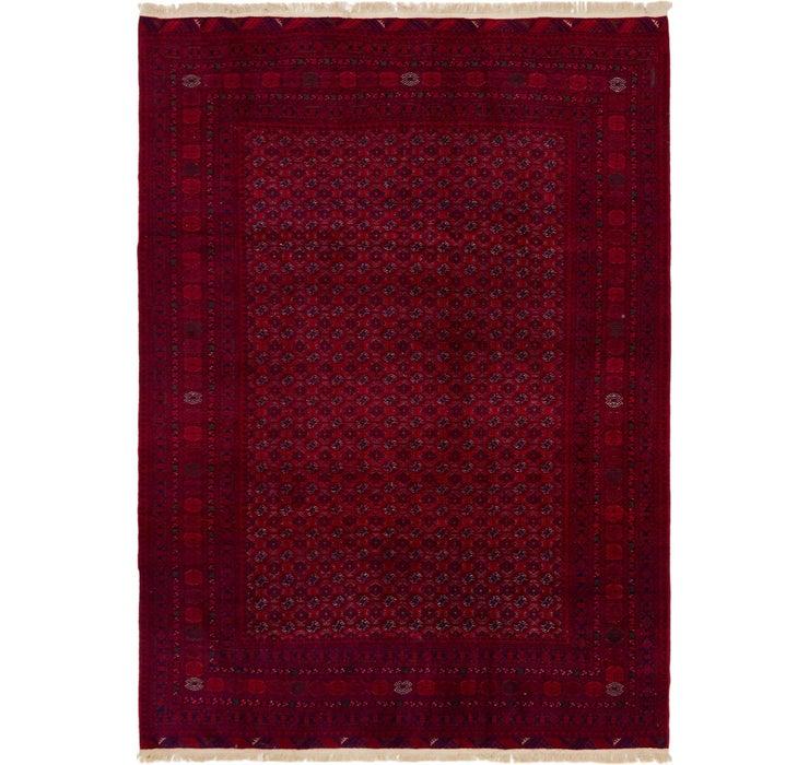 208cm x 292cm Afghan Mouri Oriental Rug