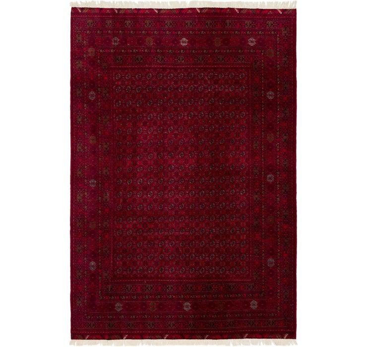 195cm x 290cm Afghan Mouri Oriental Rug