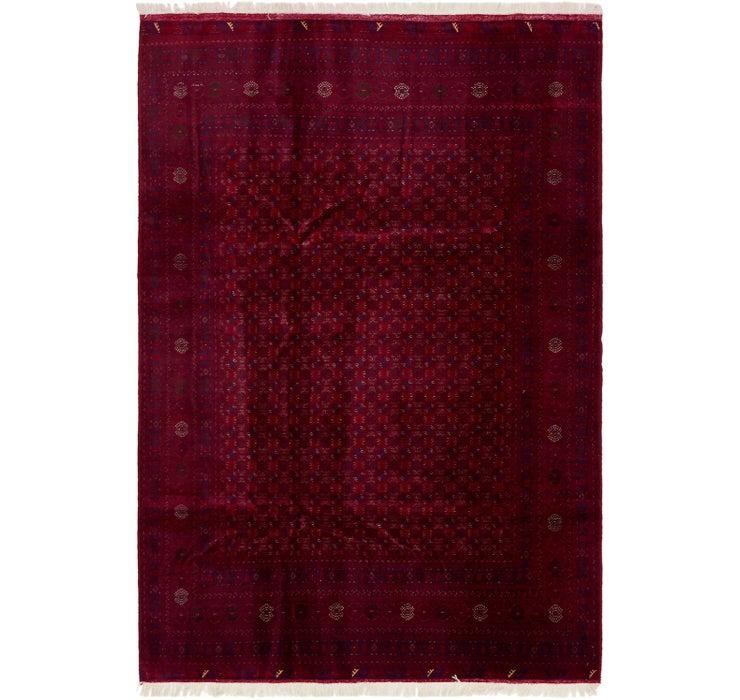 198cm x 297cm Afghan Mouri Oriental Rug