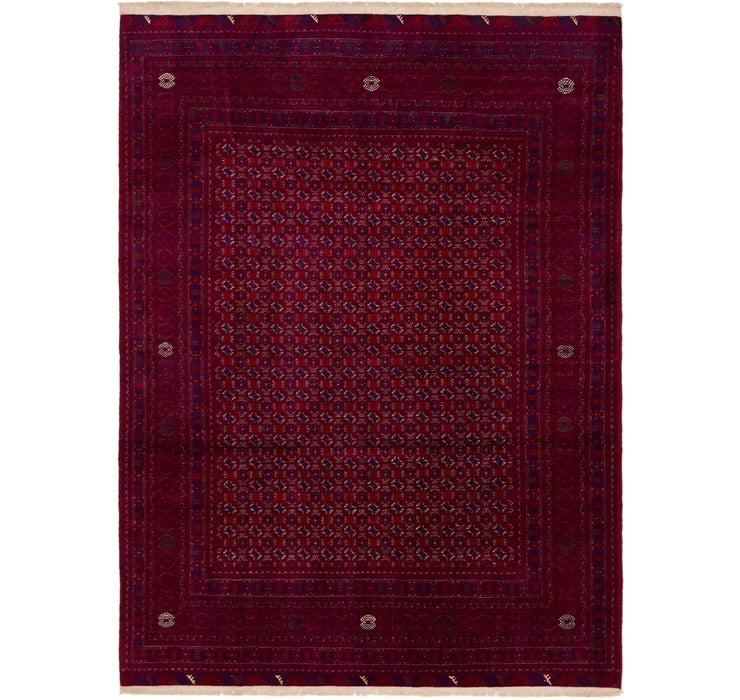 208cm x 287cm Afghan Mouri Oriental Rug