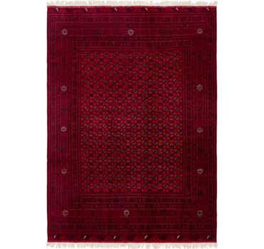 Image of 6' 6 x 9' 7 Afghan Mouri Rug