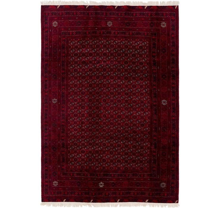 195cm x 285cm Afghan Mouri Oriental Rug
