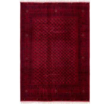 Image of 6' 6 x 9' 8 Afghan Mouri Oriental Rug