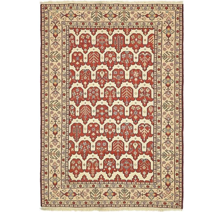 122cm x 173cm Sirjan Persian Rug