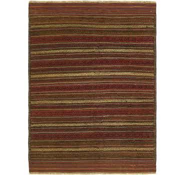 Image of 4' 6 x 6' 2 Kilim Fars Rug