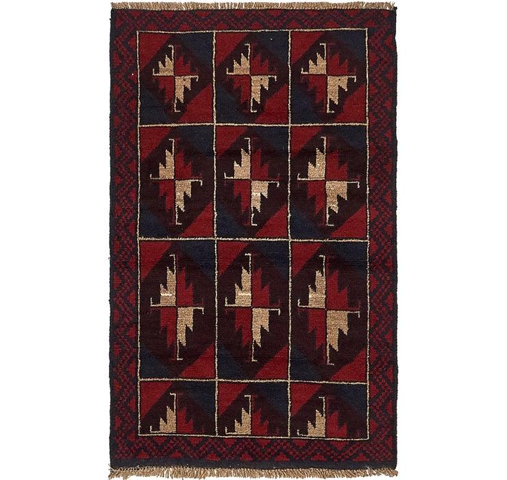 2' 10 x 4' 9 Balouch Persian Rug