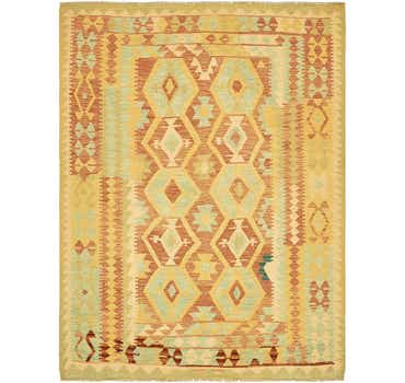 Image of 5' x 6' 5 Kilim Waziri Rug
