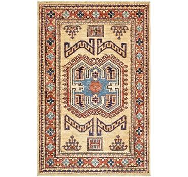 2' 7 x 4' Kazak Rug main image