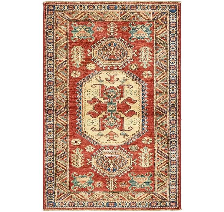 90cm x 140cm Kazak Oriental Rug