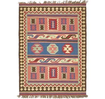 4' 9 x 5' 2 Kilim Fars Rug main image