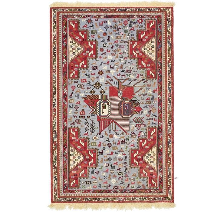 147cm x 190cm Sirjan Persian Rug