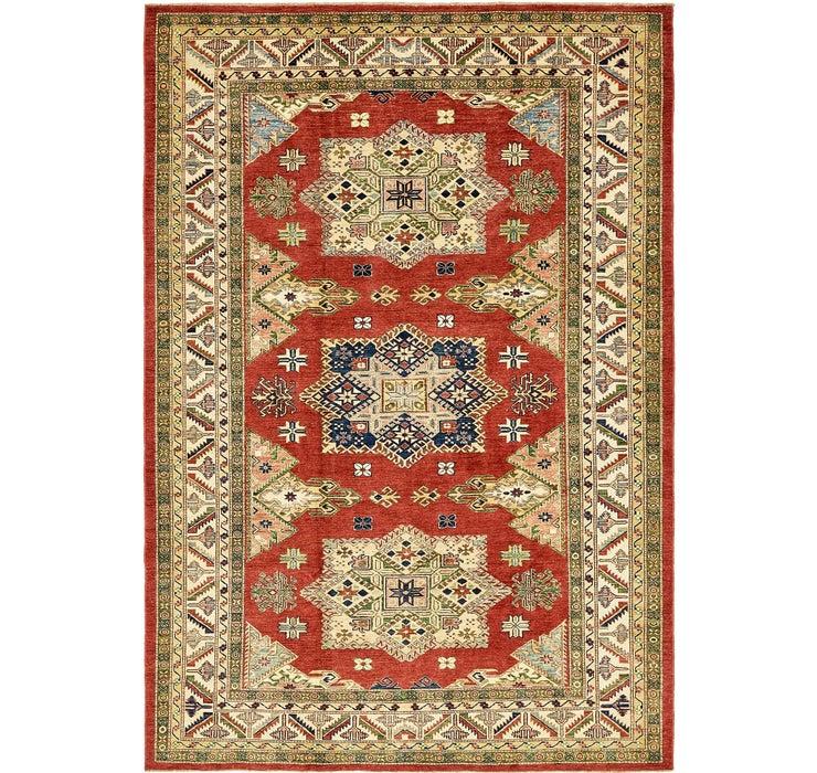 6' 10 x 9' 9 Kazak Oriental Rug