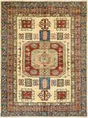 5' x 6' 10 Kazak Rug thumbnail