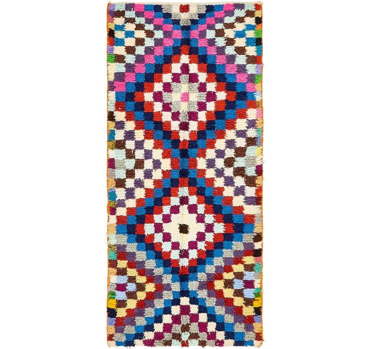 122cm x 270cm Moroccan Rug
