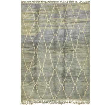 Image of 6' 8 x 9' 8 Moroccan Rug