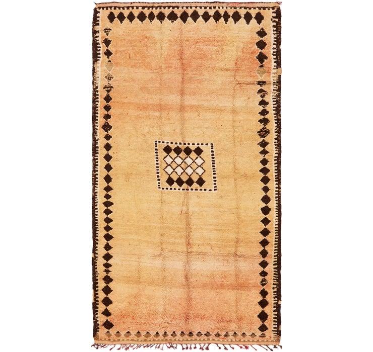 168cm x 305cm Moroccan Rug