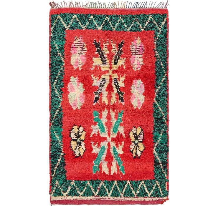 112cm x 195cm Moroccan Rug