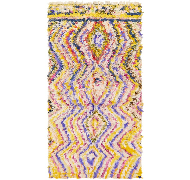 145cm x 275cm Moroccan Rug