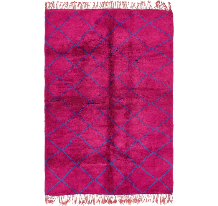 6' 6 x 10' 3 Moroccan Rug