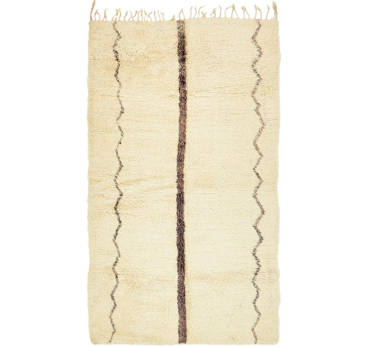 Image of 5' 9 x 10' Moroccan Rug