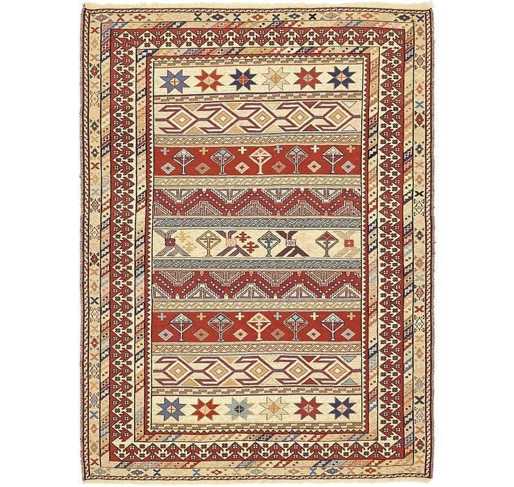 122cm x 163cm Sirjan Persian Rug