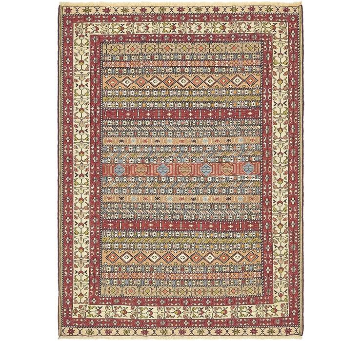 140cm x 188cm Sirjan Persian Rug