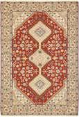 4' 5 x 6' 7 Sirjan Persian Rug thumbnail