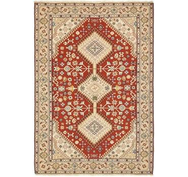 4' 5 x 6' 7 Sirjan Persian Rug