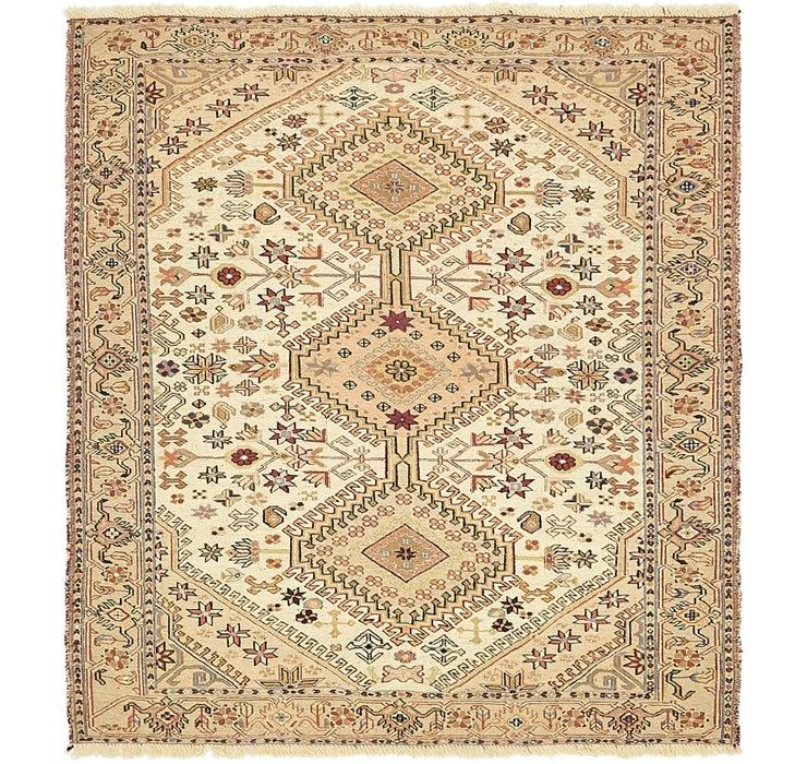 122cm x 135cm Sirjan Persian Square Rug