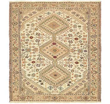 Image of 4' x 4' 5 Sirjan Persian Square Rug