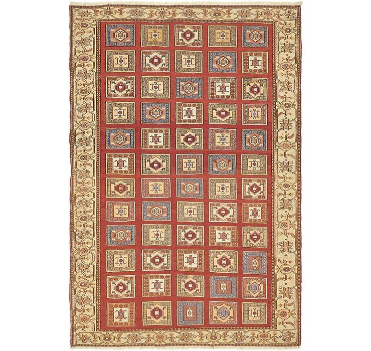 127cm x 188cm Sirjan Persian Rug