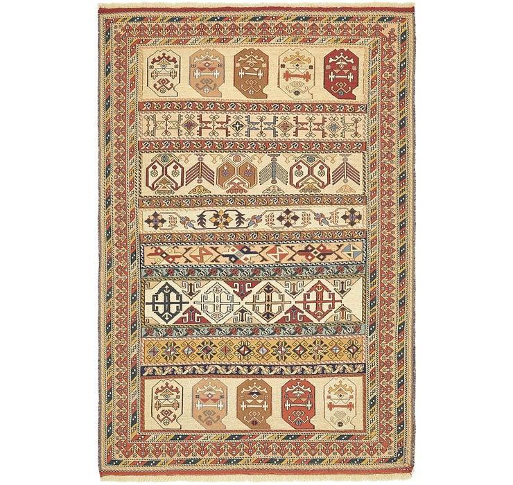 130cm x 198cm Sirjan Persian Rug