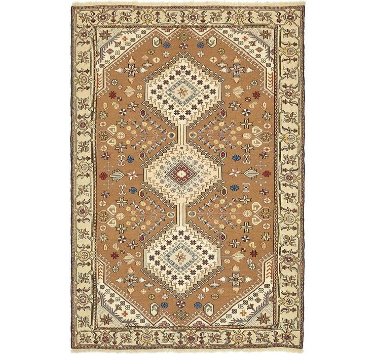 127cm x 193cm Sirjan Persian Rug