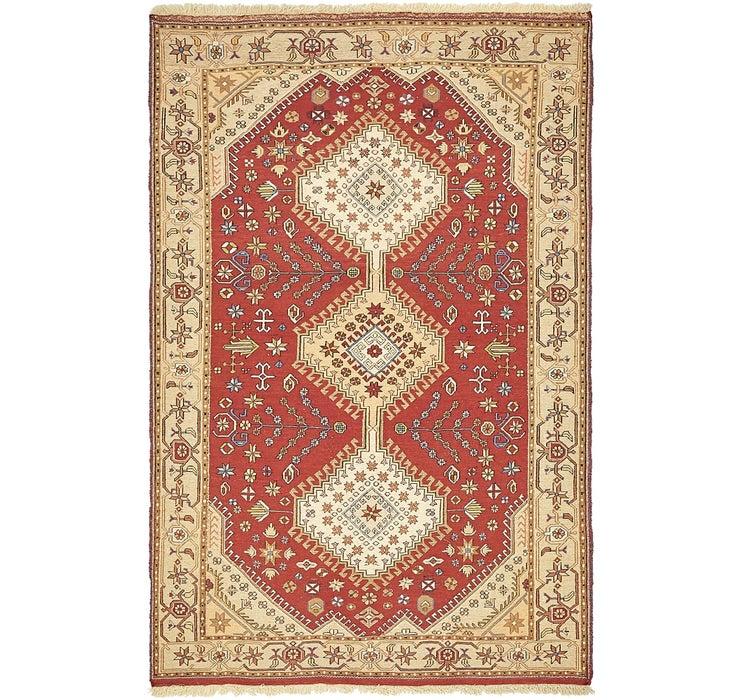 4' 4 x 6' 8 Sirjan Persian Rug