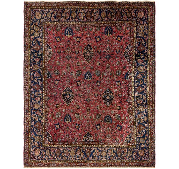 267cm x 335cm Sarough Persian Rug