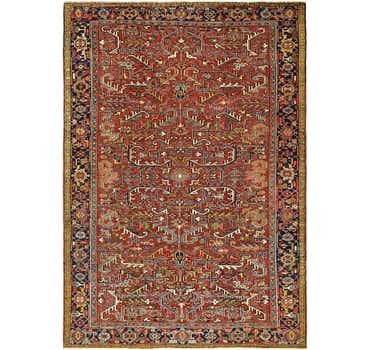8' 2 x 11' 6 Heriz Persian Rug