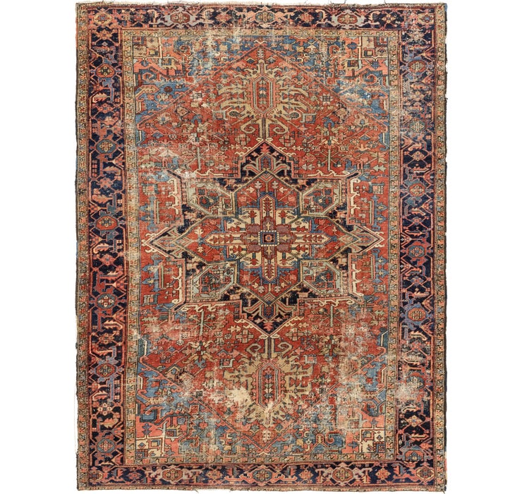 230cm x 305cm Heriz Persian Rug