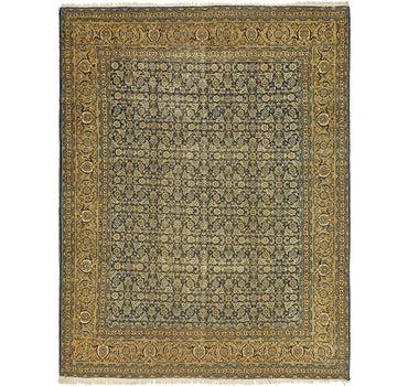 9' 4 x 12' Tabriz Persian Rug main image