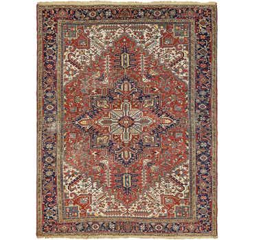 Image of 9' x 11' 9 Heriz Persian Rug