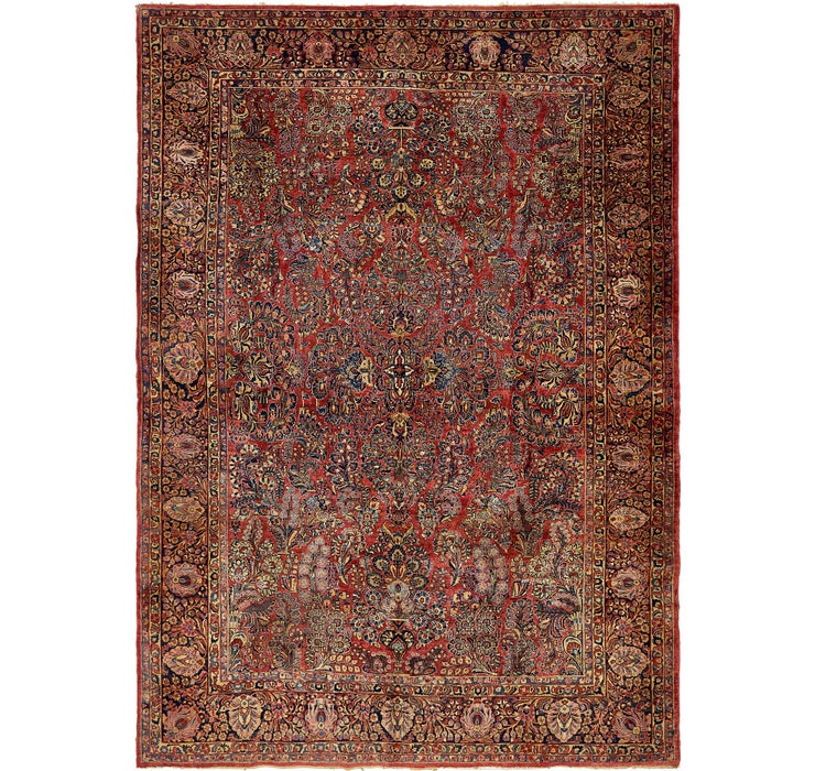 312cm x 432cm Sarough Persian Rug