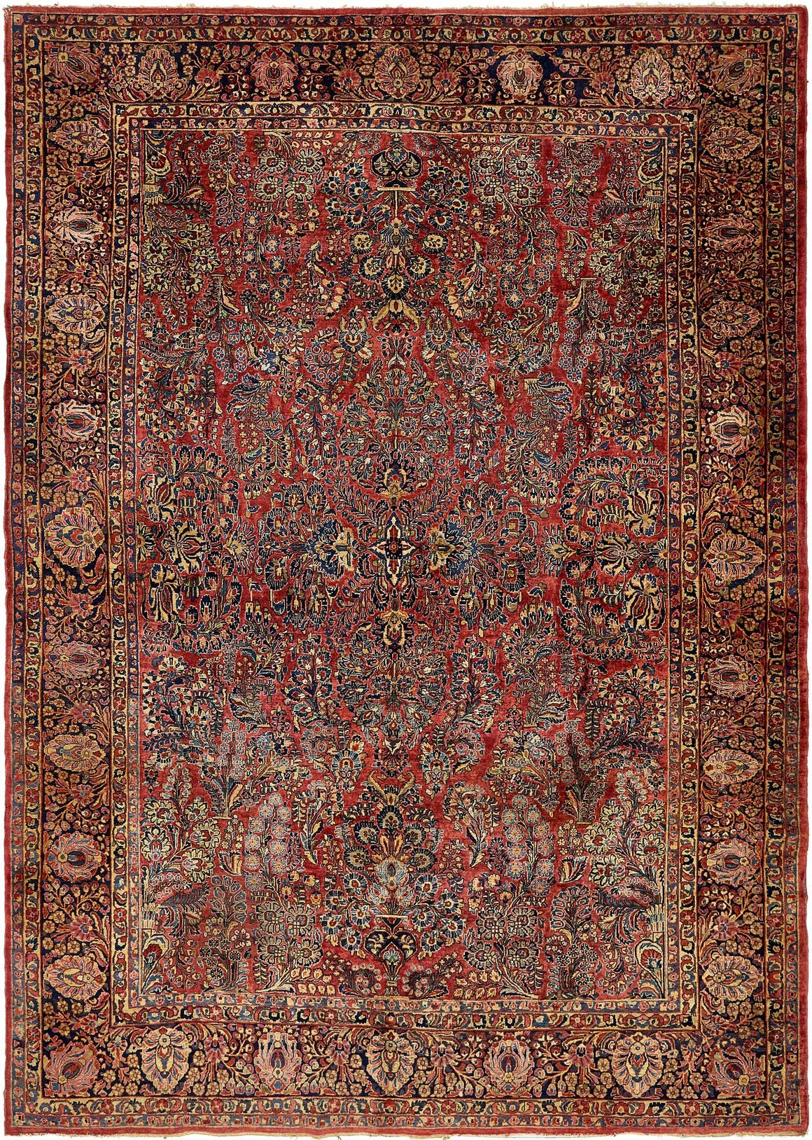 10' 3 x 14' 2 Sarough Persian Rug main image