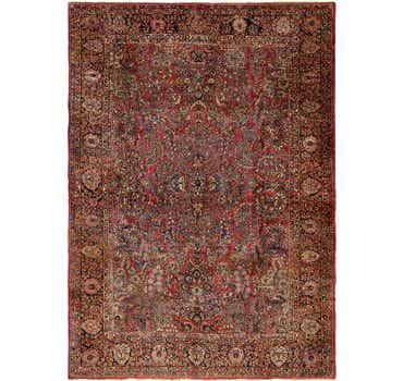 10' 3 x 14' 2 Sarough Persian Rug
