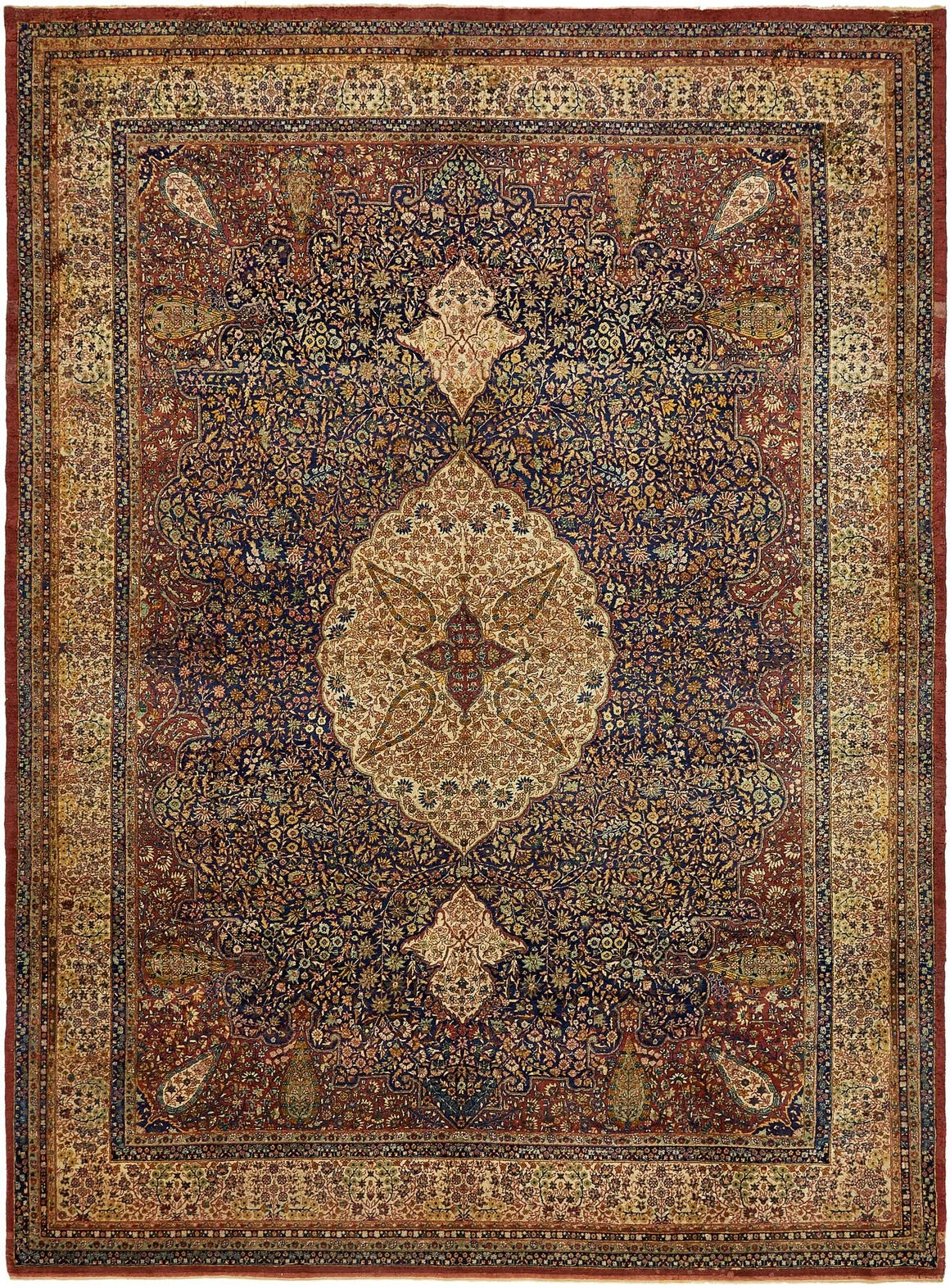 9' 10 x 13' 7 Tabriz Persian Rug main image