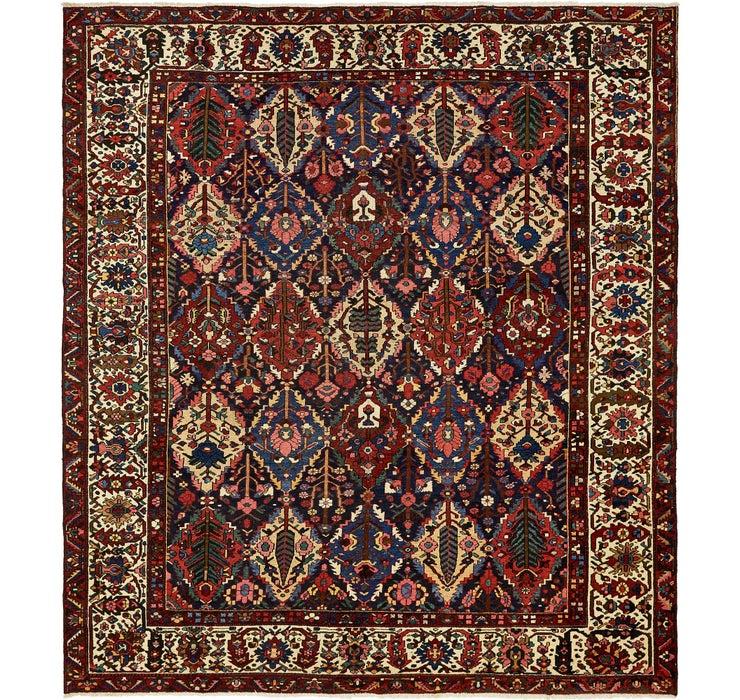 335cm x 373cm Bakhtiar Persian Rug