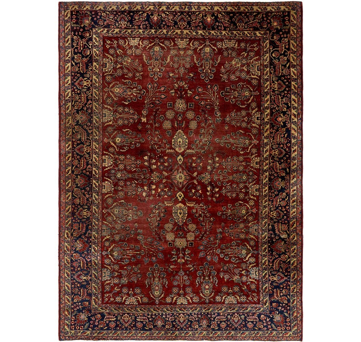 8' 6 x 11' 9 Sarough Persian Rug