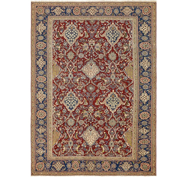 9' 2 x 12' 9 Sarough Persian Rug