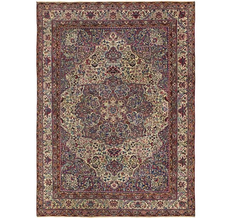 8' 9 x 11' 8 Kashan Persian Rug